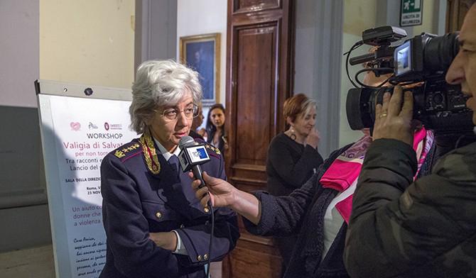 Maria Grazia Bocchino, dirigente Divisione analisi del Servizio centrale operativo della Polizia di Stato.