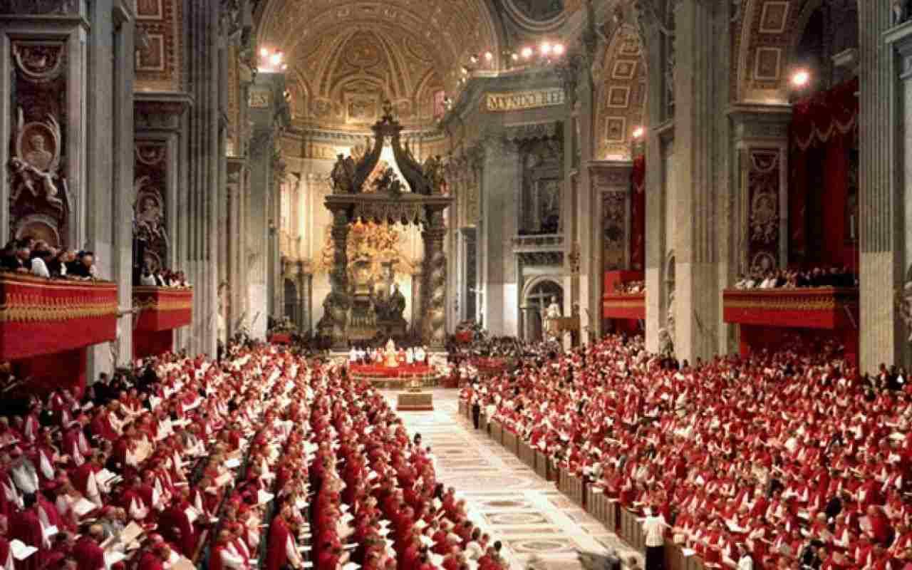 Uno scatto del Concilio Vaticano