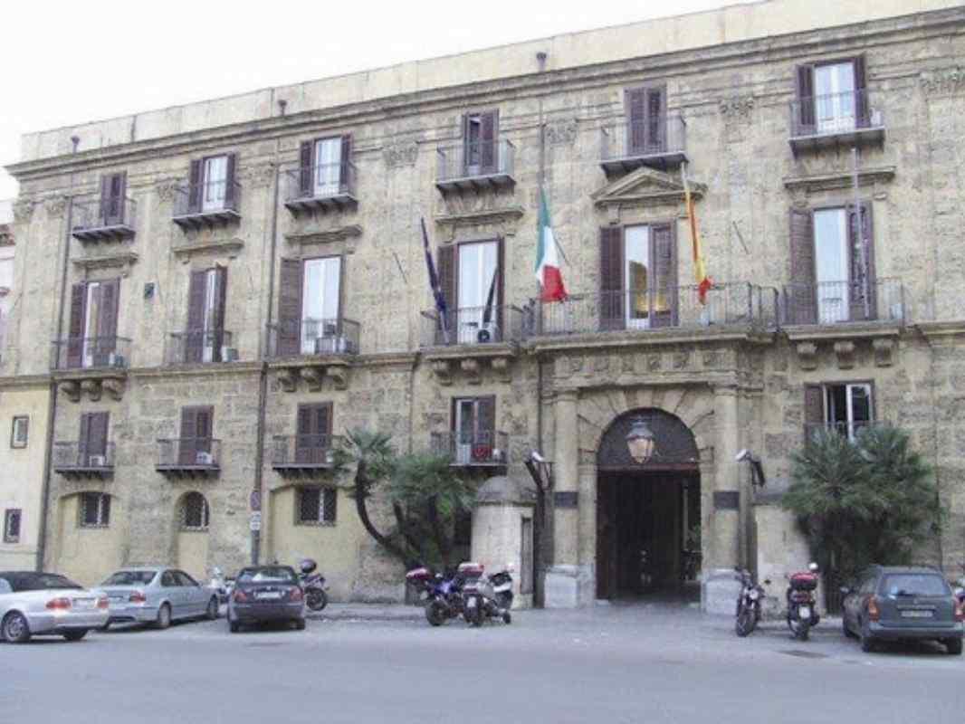 La sede della Regione Sicilia