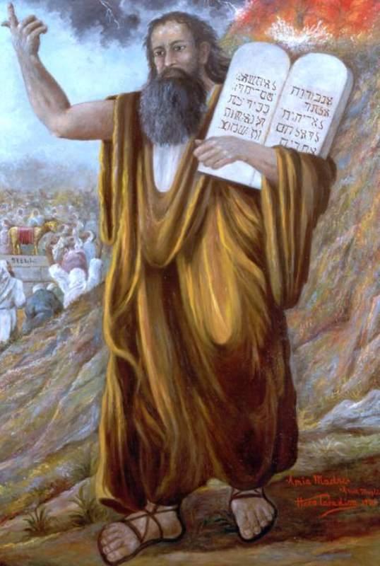 Era forse distratto Dio nel momento in cui dettò i comandamenti a Mosé?
